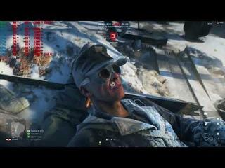 Battlefield V open beta 4k,2160p gameplay rx vega 64 liquid