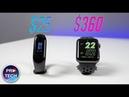 Xiaomi Mi Band 3 vs Apple Watch 3! Стоит ли переплачивать?