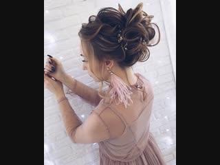 Средний пучок на натуральные стеклянные волосы