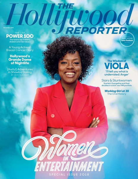 Viola Davis The Hollywood Reporter, Women In Entertainment issue.
