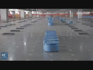 Роботизированный логистический центр в Ханчжоу