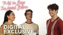 The Cast of To All The Boys I've Loved Before Plays Kiss and Tell | Kiss & Tell | Netflix