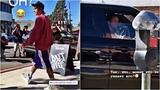 Justin Bieber leaving Alfred Coffee in Studio City, California. (October 17, 2018)