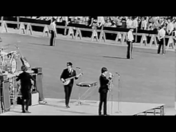 (Re-Synced) The Beatles - Live At The Comiskey Park - August 20th, 1965
