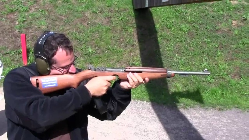 Waffen Werle Luger and Garand Prototype Shooting
