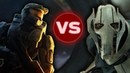 GENERAL GRIEVOUS vs MASTER CHIEF Halo vs Star Wars Who Would Win