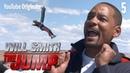 Will Smith прыгнул из вертолёта в гранд-каньон на своё 50-ти летие [NR]