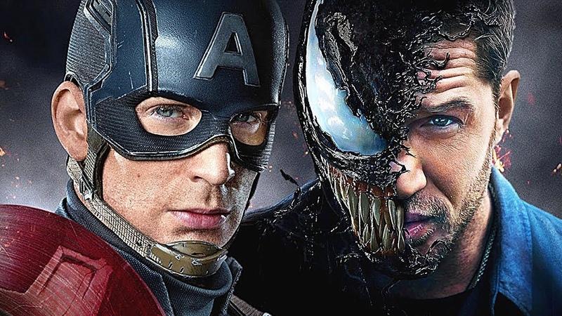 доМ4. Веном заменит Капитана Америку в киновселенной Марвел ! теория к Мстители 4. axis