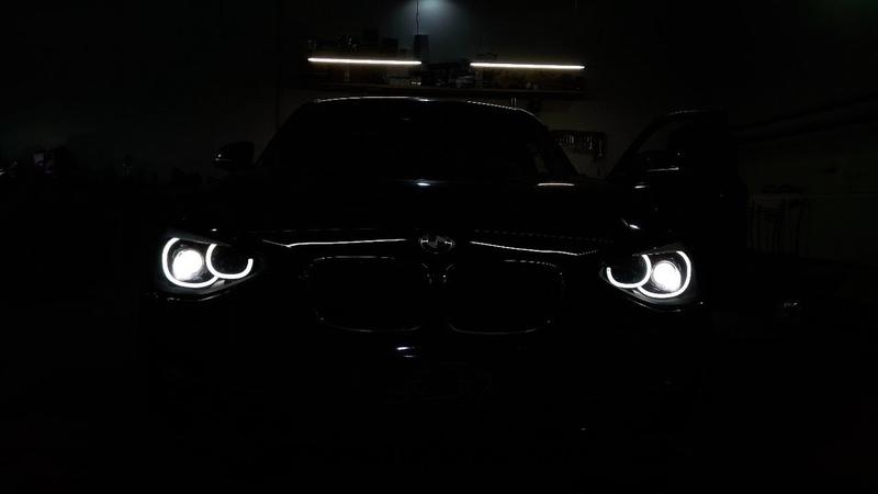 Тюнинг фар BMW 1 F20