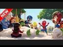 Spider Junior 2 man of order New series of 2017 cartoon game 1 episode passage 1-6 level