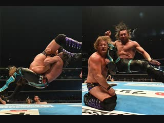 Kenny omega(c) vs chris jericho highlights (njpw wrestling kingdom 12 2018⁄iwgp usa champions)