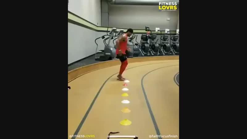 Тренировка на развитие скорости ног и ловкости