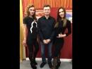 На открытии студии Алеси Пластинкиной