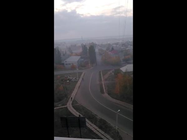 Жители пос. Беленькое решили устроить дымовую завесу
