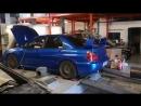 Dyno test Subaru Impreza WRX STI