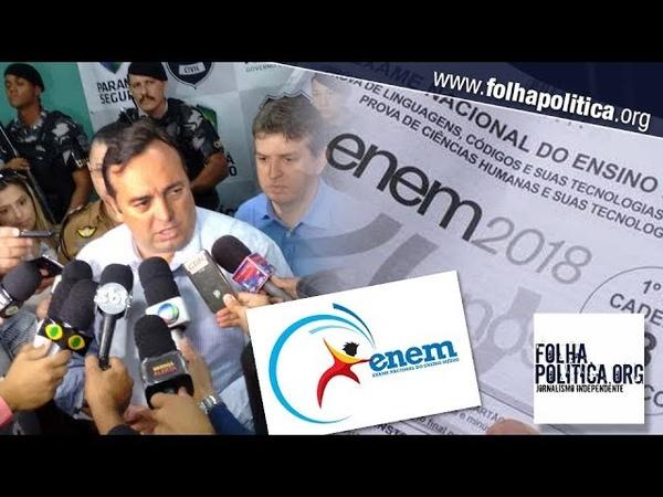 URGENTE: Delegado Francischini mostra questões absurdas do ENEM: 'Passaram de todos os limites!'