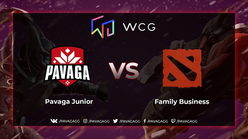Pavaga Junior vs Family Business   Game 1   WCG Regional Oualifier