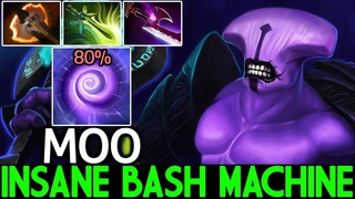 MOO [Faceless Void] Insane Bash Machine Brutal Bash Lord 7.20 Dota 2