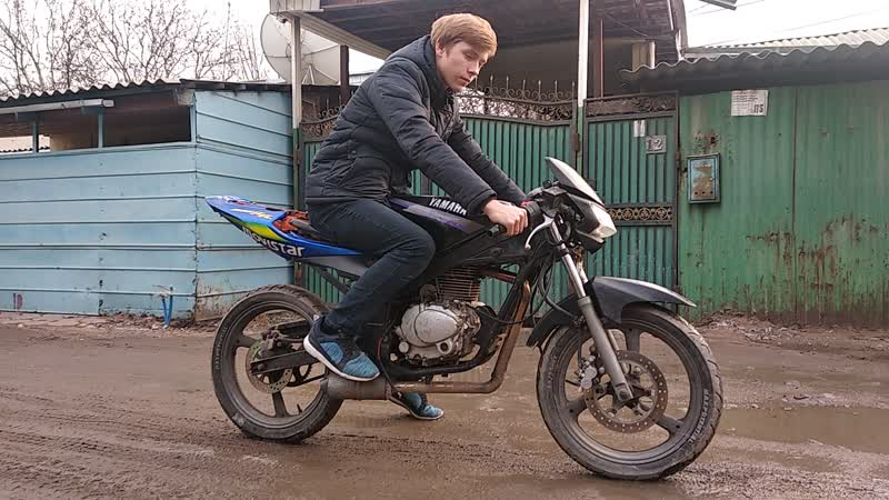 Tzr 50 swap engine 200cc 4t