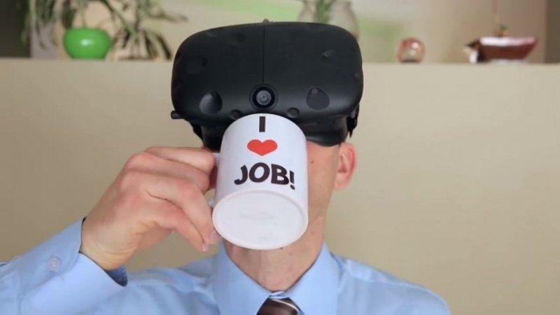 Job Simulator Steam Trailer