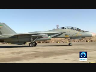 Iranian Air Force hold military drills