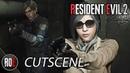 RESIDENT EVIL 2: REMAKE || LEON GET'S SHOT | CUTSCENE HD