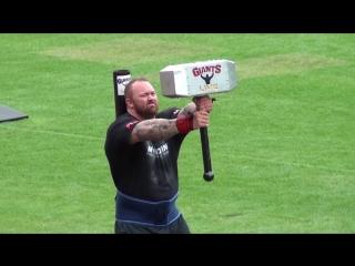 Europes strongest man  - mountain wins again! hafthor bjornsson