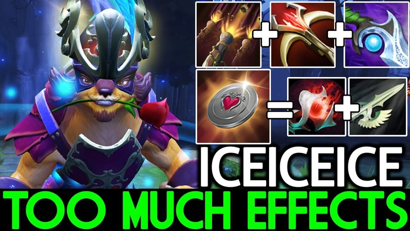 Iceiceice [Pangolier] New Skill Rework 7.20 Too Much Cancer Effects Dota 2