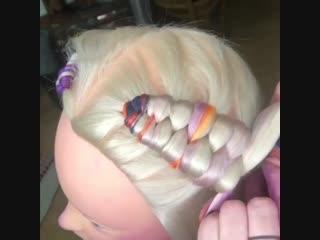 Как плести infinity braids с канекалоном. Часть 2