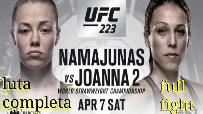 👉 Rose Namajunas vs Joanna Jedrzejczyk FULL FIGH Роуз Намаюнас vs Джоанна Енджейчик 👍💪 🔔