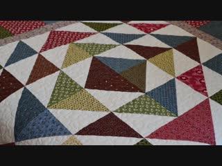Лоскутное шитьё. Три простых способа сборки лоскутного блока.
