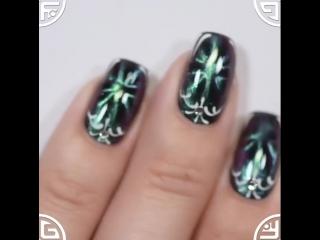 """Дизайн с лаком для ногтей El Corazon """"Супер Волшебные Кошки»"""
