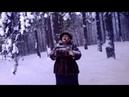 Трон, снег, лес, метла, бабушка