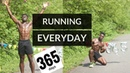 I ran everyday for a year | 365 days of running