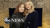 Isabelle Hupperts psycho Greta role scared wits out of co-star Chlo