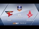 FaZe vs Astralis, overpass, ECS Season 6 Europe