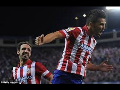 David Villa ● Atlético Madrid ● All goals 2013-2014