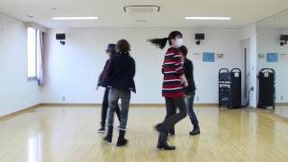 【mirror反転ver】うたプリ*ポワゾンKISS踊ってみた【OoS】Dance practice ver.