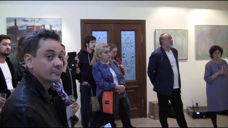 Луф-Парад №6. Открытие выставки группы Безнадёжные живописцы, ч.1