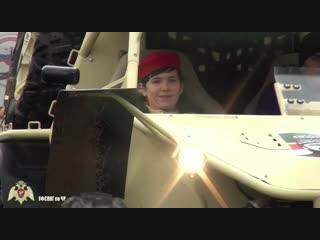 Управление Росгвардии по Чеченской Республике исполнило мечту юнармейцев