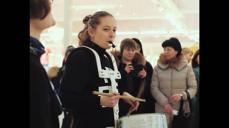 Концерт Тюменского абсолютно барабанного оркестра в «Космосе»