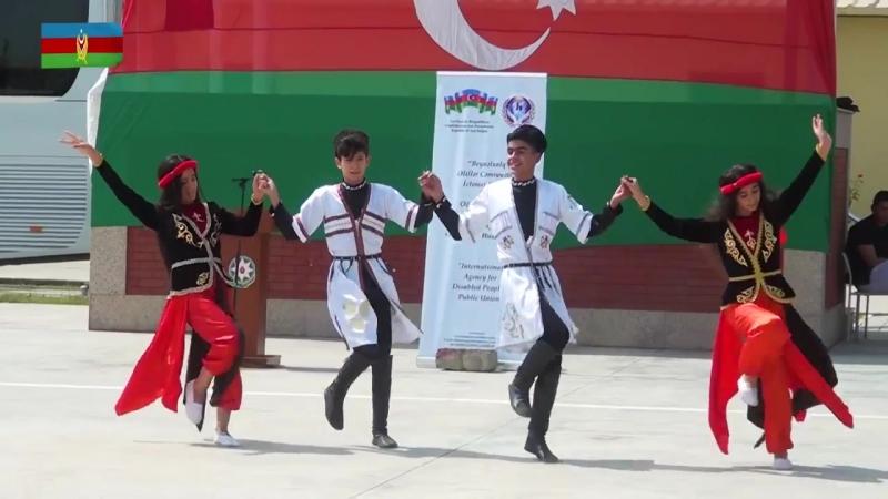 """Beynəlxalq Əlillər Cəmiyyəti"""" İctimai Birliyinin nümayəndələri ön xətdə 07 09 2018"""