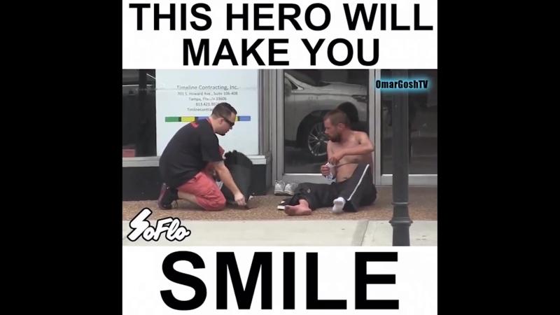Dieser Held wird dich zum Lächeln bringen