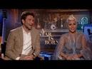 Интервью Леди Гага и Брэдли Купера для «FOX 5 DC» (10 сентября)