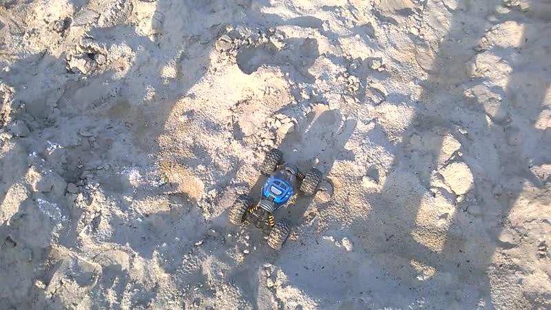 Ездим по песку. Часть 1.