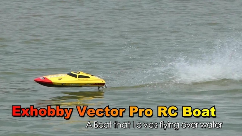 Volantexrc Vector PRO 798-2 800mm 2.4G Brushless RC Speed Boat