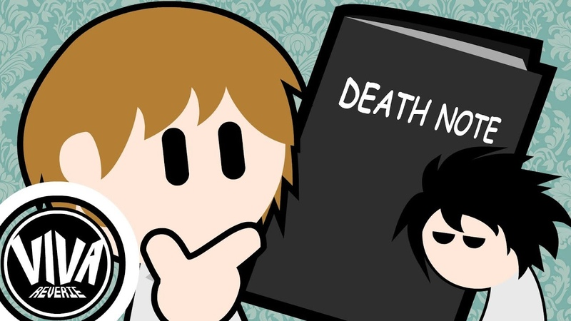 Death Note But Really Really Fast - Animation