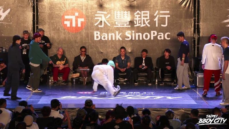 R.F Jam 4on4 Semifinal 1 Heroes vs Seven-Eleven 2018 Taipei Bboy City   Danceproject.info