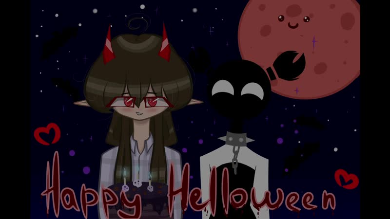 Happy Helloween - kollab animation (with Fioleta)