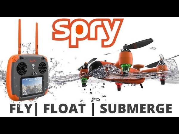 SPRY A waterproof drone that submerges under water flies